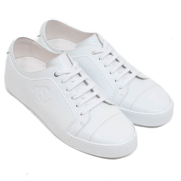 Double C Logo Trainers CHANEL