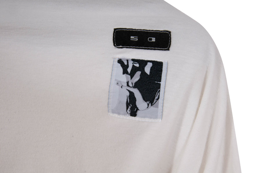DRKSHDW Long Sleeve Tee (Milk) RICK OWENS