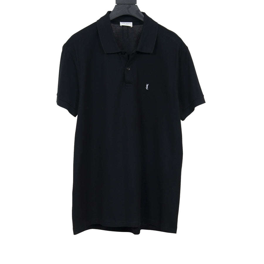 Embroidered YSL Polo Shirt SAINT LAURENT