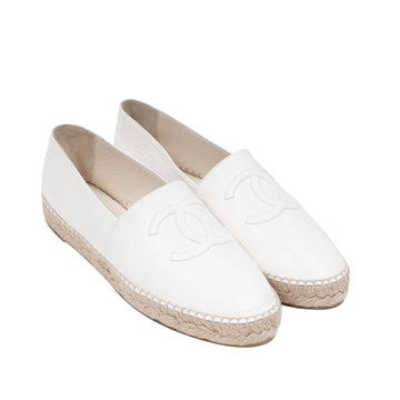 Espadrilles (White) CHANEL