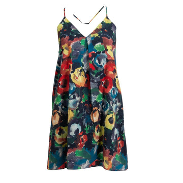 Fierra Y Back Mini Dress Alice + Olivia