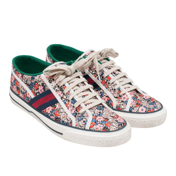 Floral 1977 Low Top Tennis Sneakers GUCCI