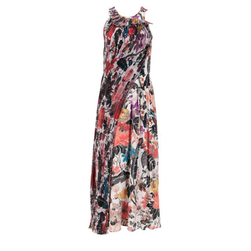 Floral Print Long Dress DRIES VAN NOTEN