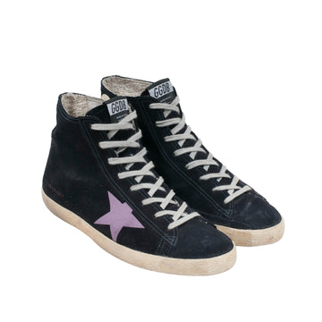Francy Distressed High Top Sneakers Golden Goose