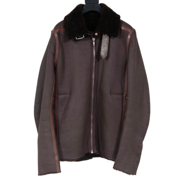 Fw 16 Mastadon Shearling Jacket (Brown) RICK OWENS