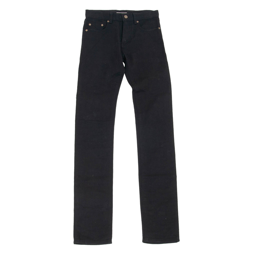 FW13 Stretch Raw Denim Jeans SAINT LAURENT