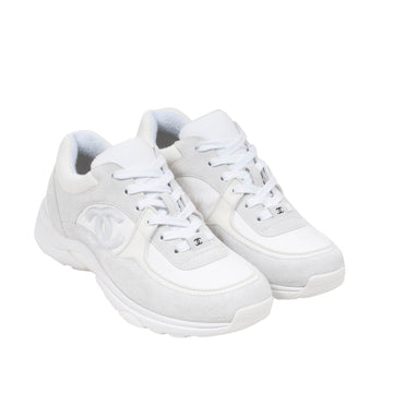 FW19 Sneaker (White/Off White) CHANEL