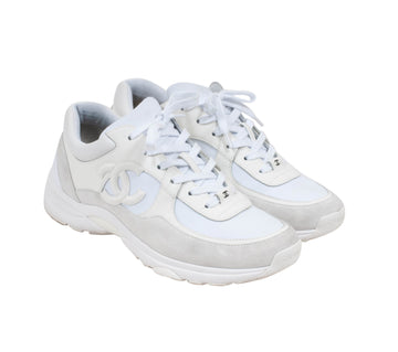 FW19 Sneakers (White/Off White) CHANEL