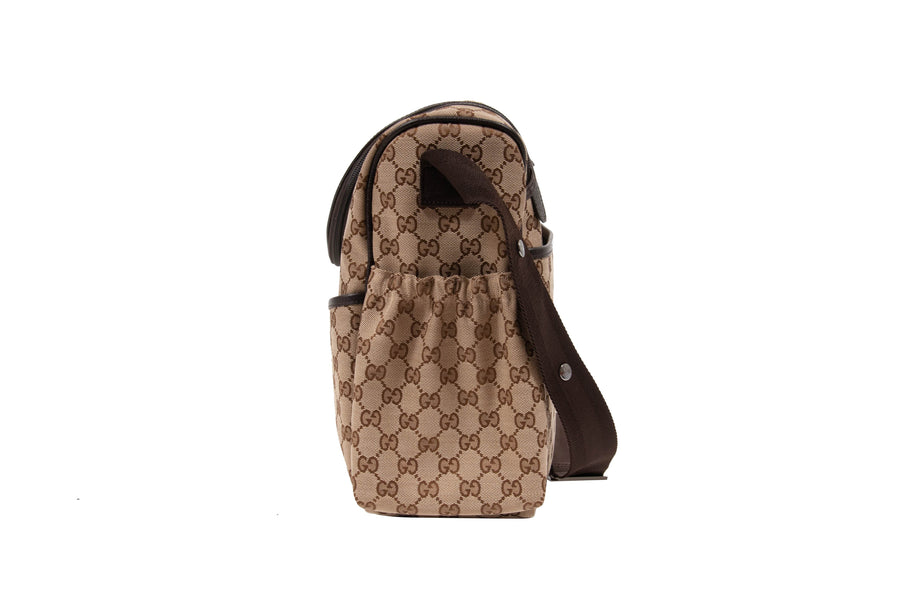 GG Supreme Baby Diaper Bag GUCCI