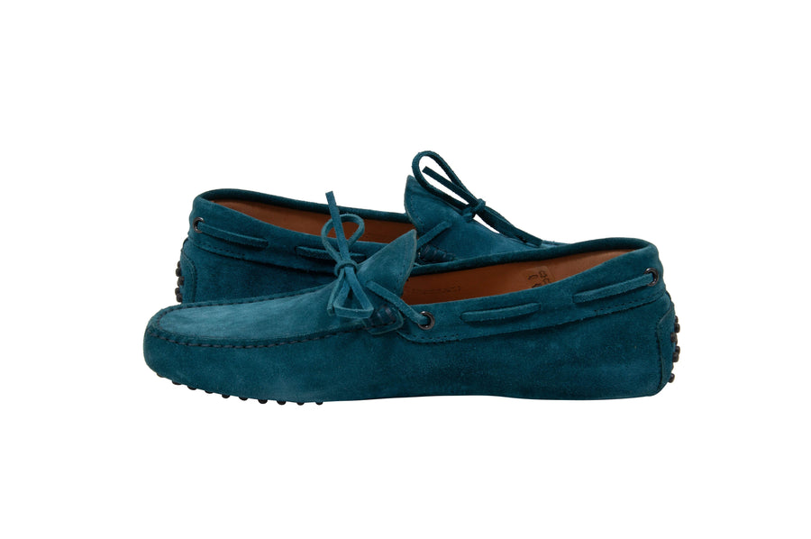 Gommino Suede Driving Loafers (Navy) Tod's
