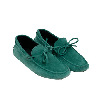 Gommino Suede Driving Shoes - Loafers (Aqua) Tod's