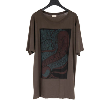 Graphic Tee Shirt (Olive) DRIES VAN NOTEN