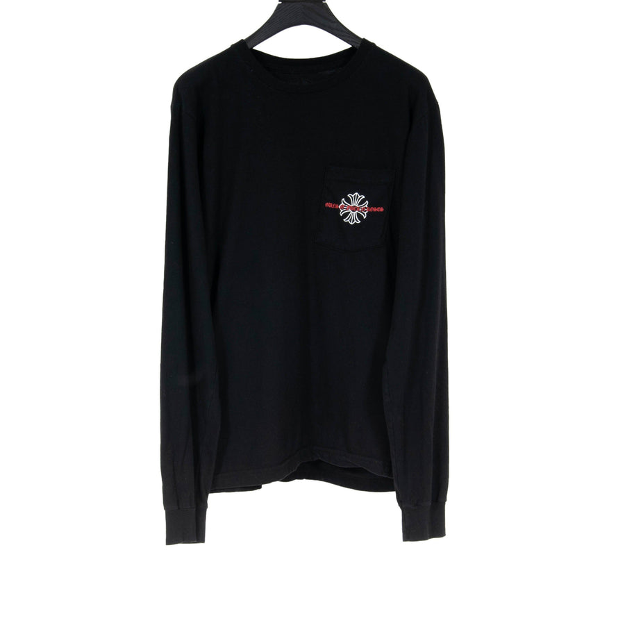 Guns N Roses Pocket Long Sleeve CHROME HEARTS