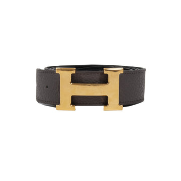 H Belt (Black/Brown) HERMES