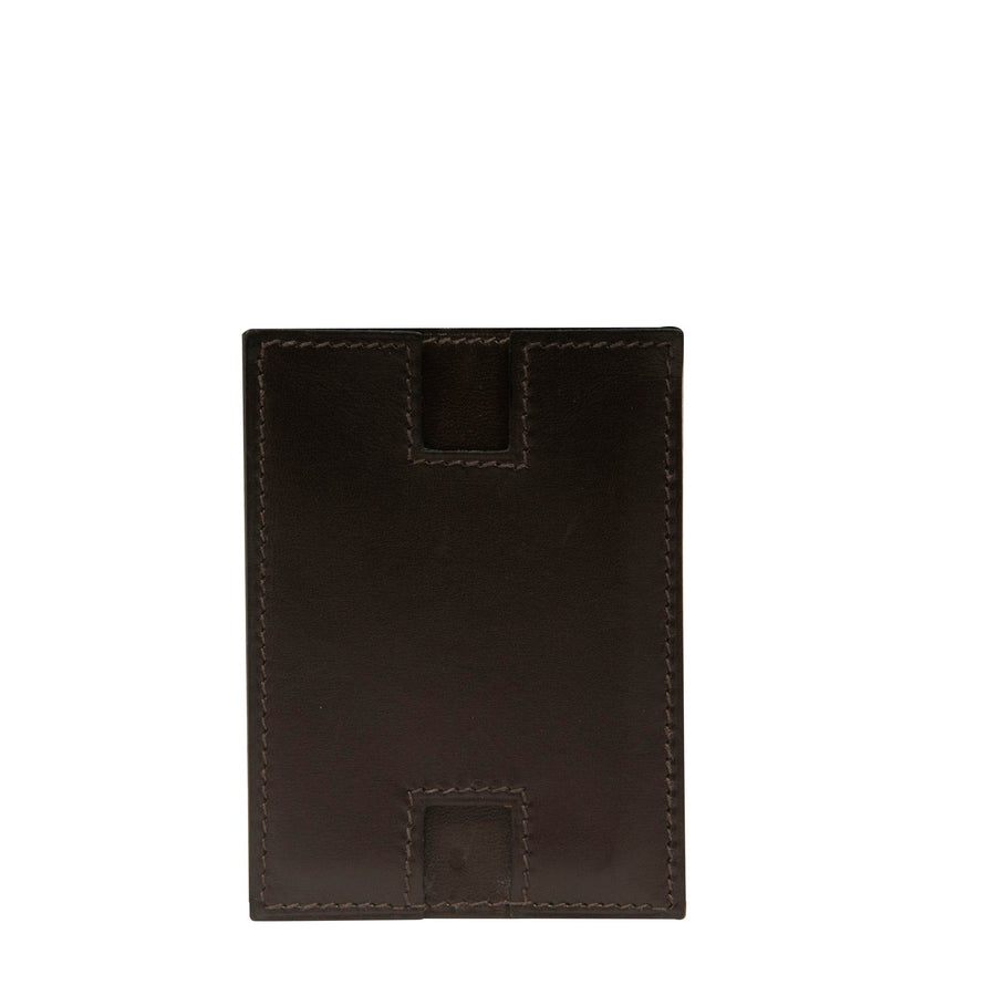 H Card Holder (Black) HERMES