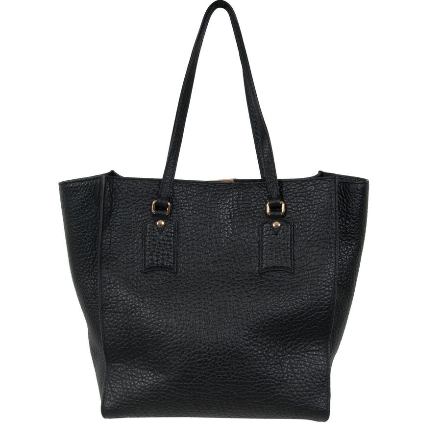 Heritage Grain Medium Woodbury Tote Burberry