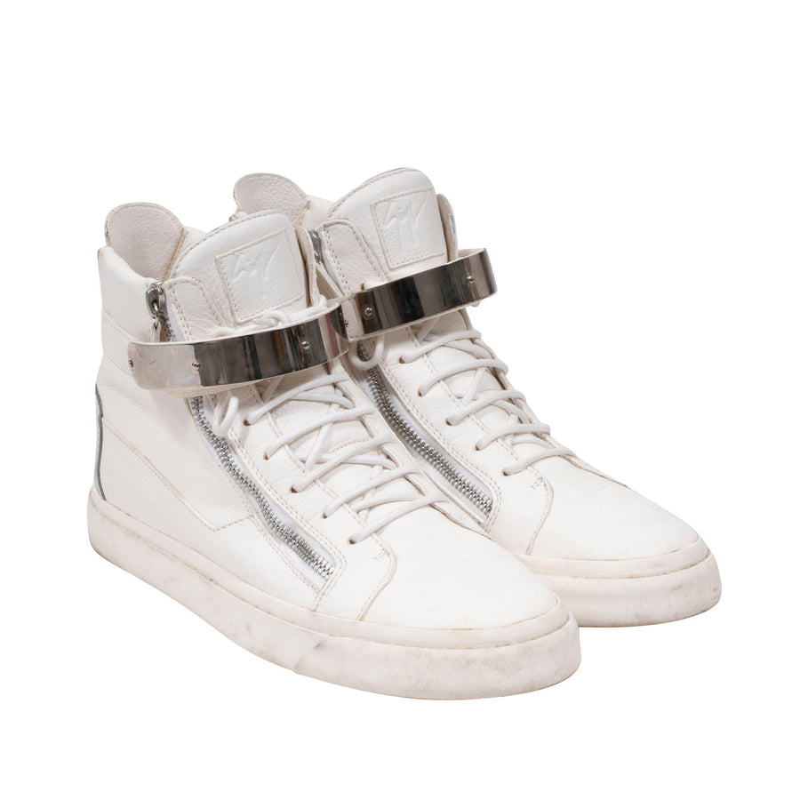 High Top Sneakers (White) Giuseppe Zanotti