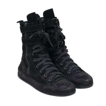 High Top Suede Sneakers ANN DEMEULEMEESTER