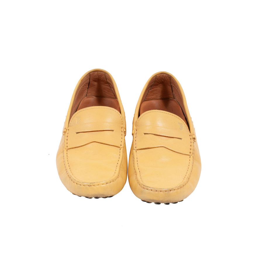 Leather Loafer (Yellow) Tod's