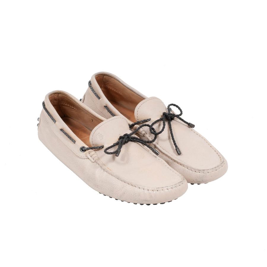 Leather Loafers (Tan) Tod's