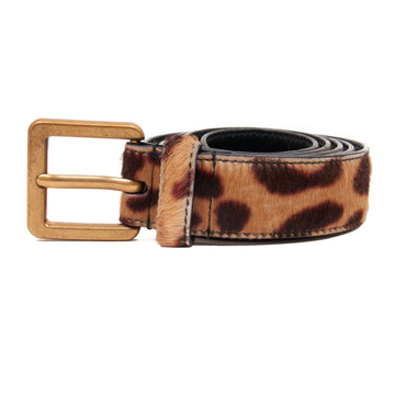 Leopard Print Belt SAINT LAURENT