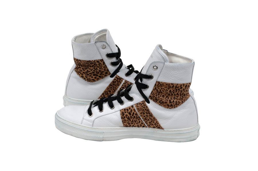 Leopard Print Sunset Sneakers Amiri