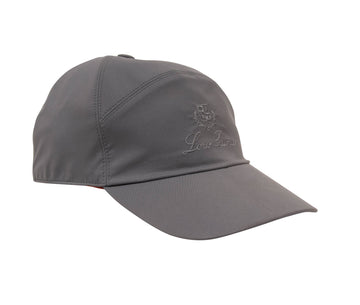 Logo Hat (Gray) Loro Piana
