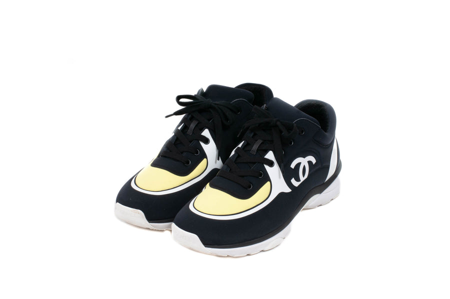 Low Top Sneakers (Black) CHANEL