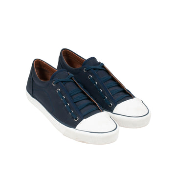 Low Top Sneakers (Navy/White) Lanvin