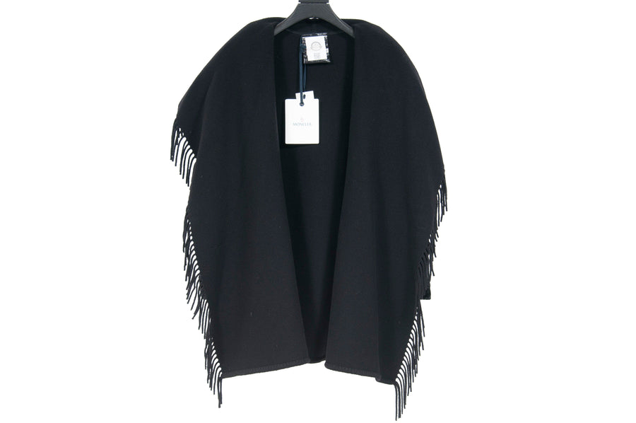 Mantella Fringed Quilted Velvet Coat MONCLER