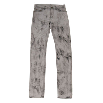 Marble Wash Gray Denim SAINT LAURENT