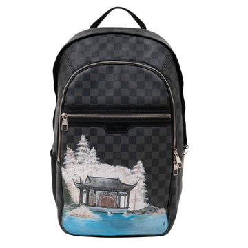 Michael Backpack (Damier Graphite) LOUIS VUITTON