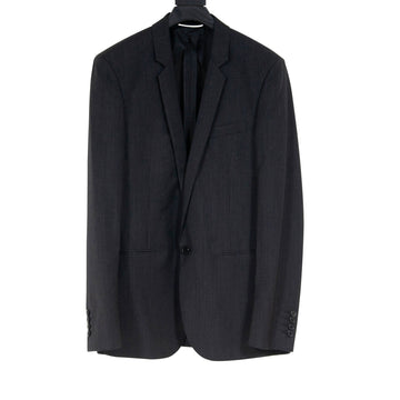 Mohair Wool Striped Blazer SAINT LAURENT