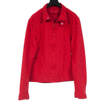 Monogram Soft Denim Jacket (Red) LOUIS VUITTON