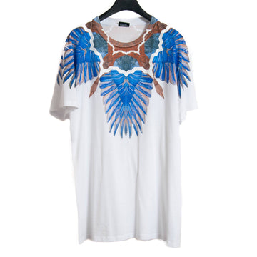 Multi Color Wings Graphic T Shirt MARCELO BURLON