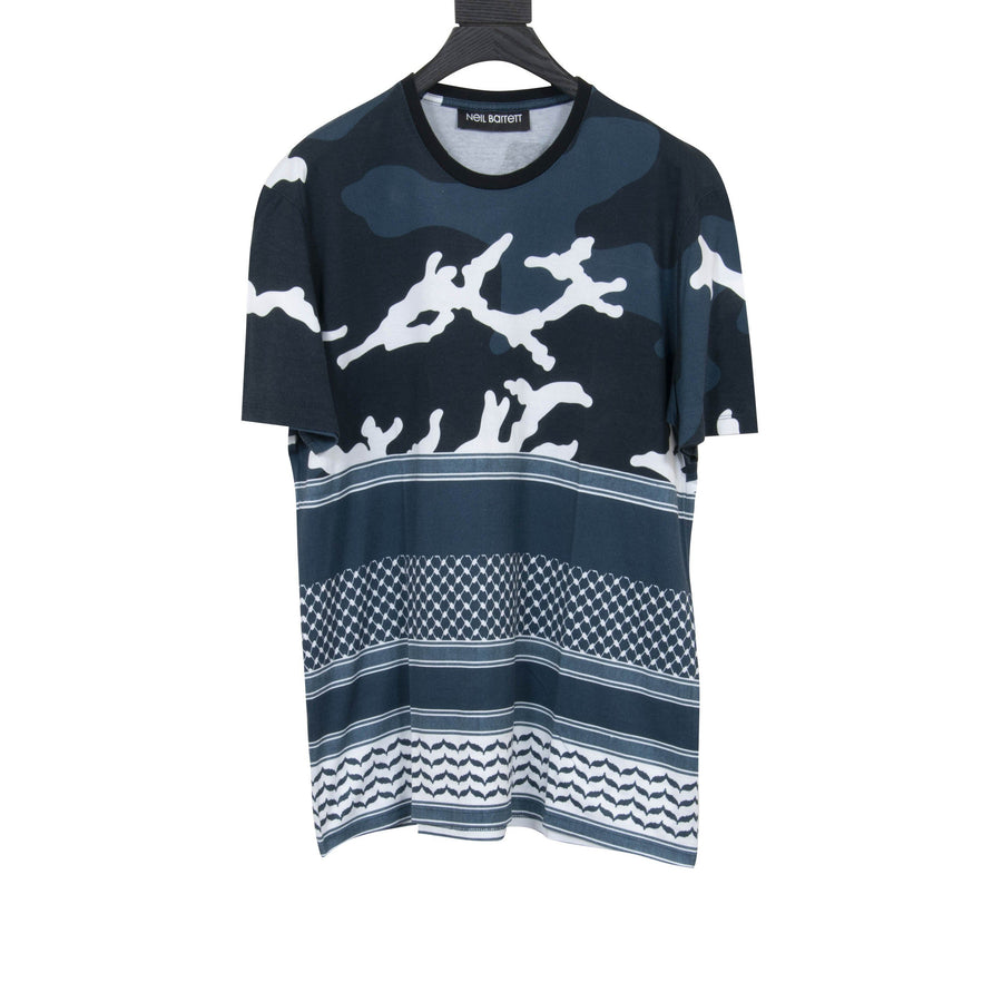 Multi Graphic T Shirt NEIL BARRETT