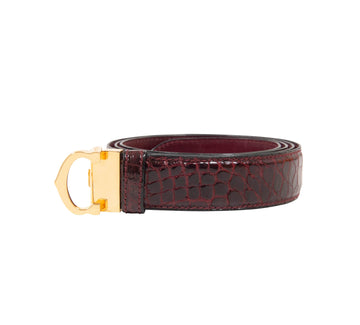 Must de Cartier Croc Belt Cartier