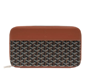Opera Travel Wallet (Black/Tan) GOYARD