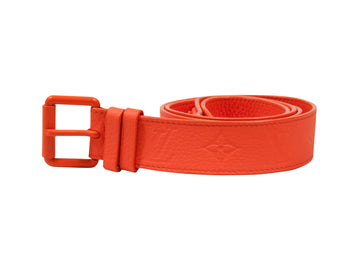 Orange Chicago MCA Belt W/ Chain LOUIS VUITTON