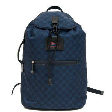 Ostro Damier Challenge Collection Backpack LOUIS VUITTON