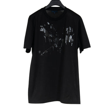 Paint Splatter Graphic Tee (Black) Lanvin