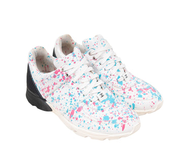 Paint Splatter Trainers Chanel