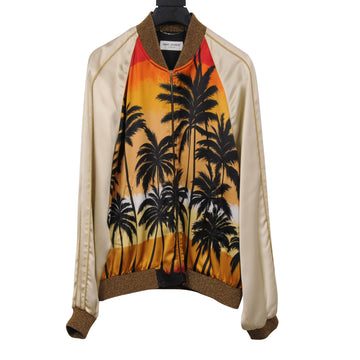 Palm Tree Teddy Jacket SAINT LAURENT