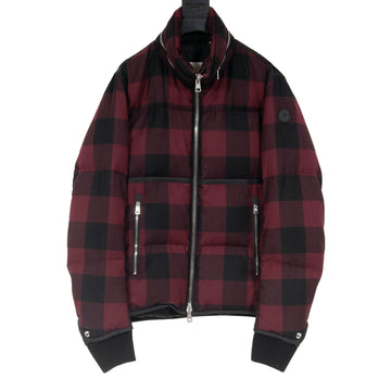 Plaid Puffer Jacket MONCLER