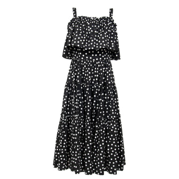 Polka Dot Strap Dress Dolce & Gabbana