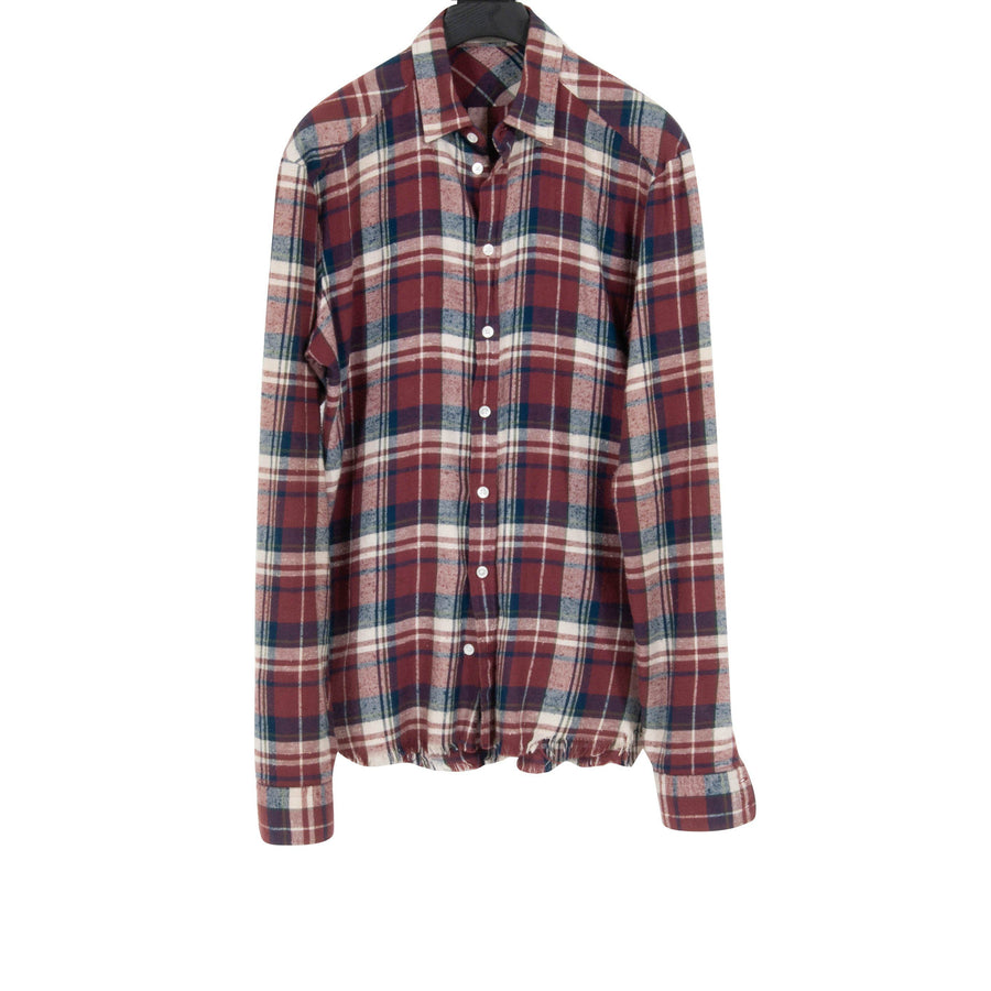 Raw Hem Flannel Faith Connexion