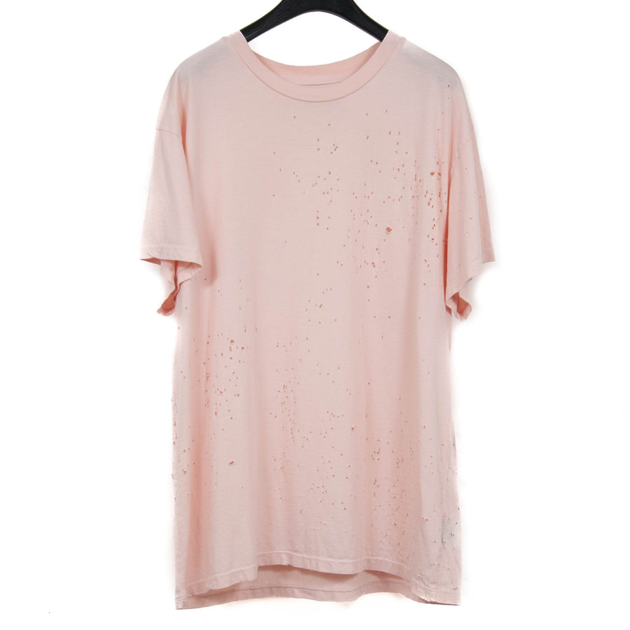 Shotgun Blasted Pink T Shirt Amiri