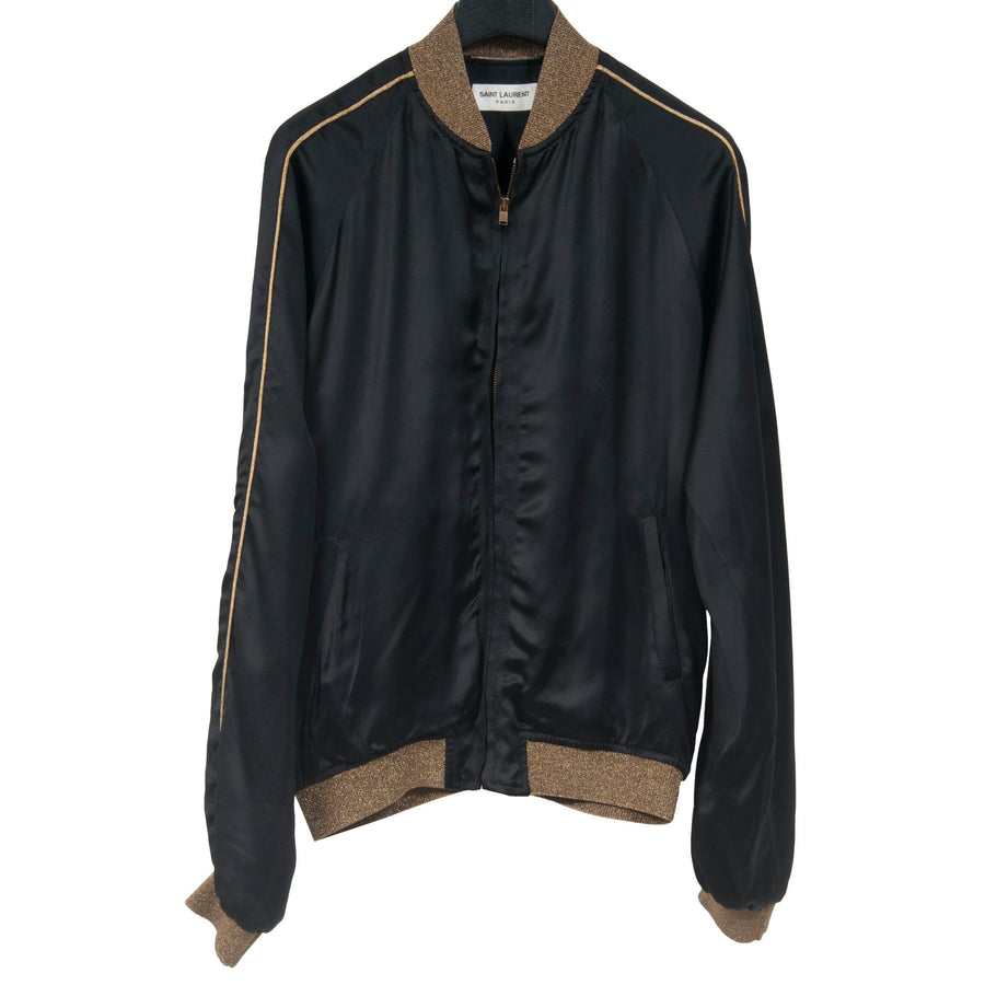 Silk Bomber Jacket SAINT LAURENT