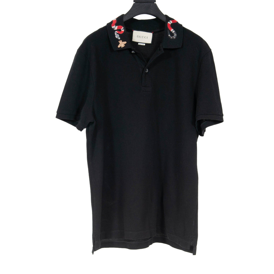 Snake Collared Polo GUCCI
