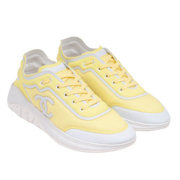 Sport Sprint Sneaker (Yellow) CHANEL
